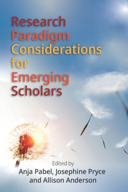 Jacket image for Research Paradigm Considerations for Emerging Scholars